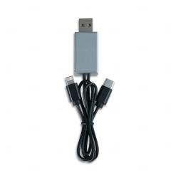 Cabo USB 3 em 1 Personalizado