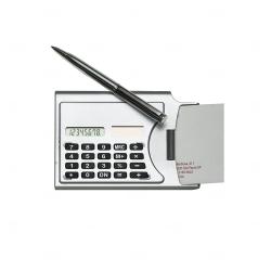Calculador c/ Porta Cartão Personalizado