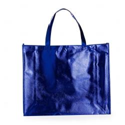 Sacola de TNT Metalizada Personalizada Azul