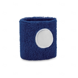 Munhequeira Atoalhada Personalizado Azul