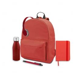 Kit Home Office Personalizado - 5 Peças Vermelho
