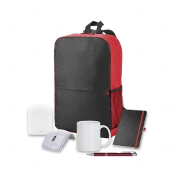 Kit Home Office Premium Personalizado - 6 peças