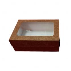 Caixa com visor Personalizada - 29 cm x 22 cm