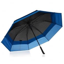 Guarda Chuva com Extensão Personalizado Preto e Azul
