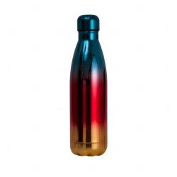 Garrafa Inox Degradê Personalizada - 500ml Azul