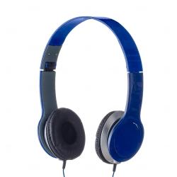 Fone de Ouvido Estéreo Personalizado Azul