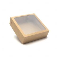 Caixa para Brinde Corporativo - 20 cm x 20 cm Kraft