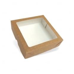Caixa para Brinde Corporativo - 15 cm x 15 cm Kraft
