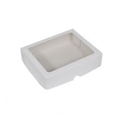 Caixa para Brinde Corporativo - 15 cm x 12,5 cm Branco