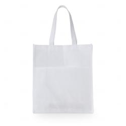 Sacola de TNT c/ Bolso Personalizada - 40x35 cm Branco