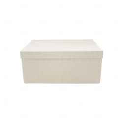 Caixa para Brinde Corporativo - 35cm x 25cm Branco