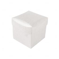 Caixa para Brinde Corporativo - 17 cm x 17 cm Branco