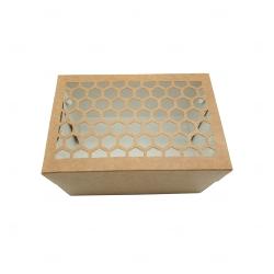 Caixa para Brinde Corporativo - 19,5 cm x 13,5 cm Marrom