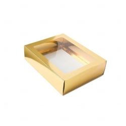 Caixa para Brinde Corporativo - 12,5 cm x 9 cm Dourado