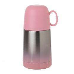 Garrafa Térmica Degradê Personalizada - 250 ml Rosa Claro