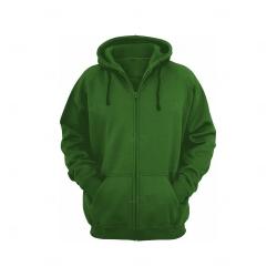 Moletom Canguru c/ Zíper Personalizado Verde