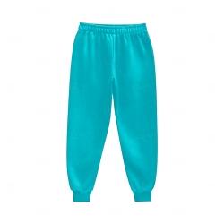 Calça de Moletom Personalizada Azul Claro