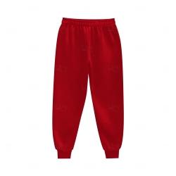 Calça de Moletom Personalizada Vermelho