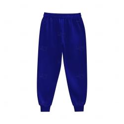 Calça de Moletom Personalizada Azul