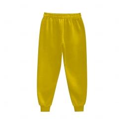 Calça de Moletom Personalizada Amarelo