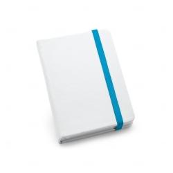 Caderneta tipo Moleskine Personalizada - 14x9 cm