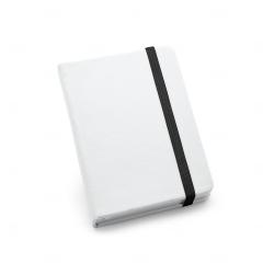 Caderneta tipo Moleskine Personalizada - 14x9 cm Preto
