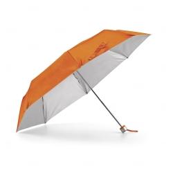 Guarda-Chuva Dobrável Personalizado Laranja
