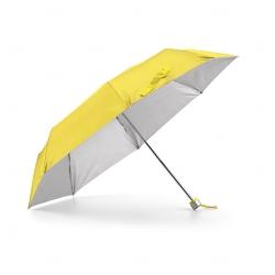 Guarda-Chuva Dobrável Personalizado Amarelo