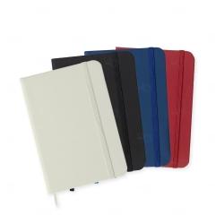 Caderneta tipo Moleskine Personalizada - 14,2x9,1 cm