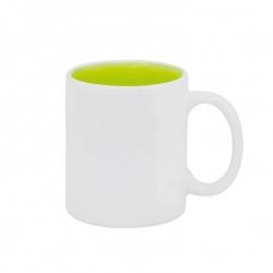 Caneca Cerâmica Fundo Colorido Personalizada - 325ml Verde