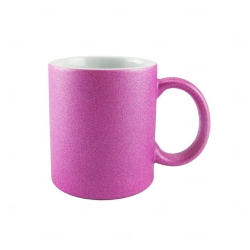 Caneca Glitter Personalizada - 325 ml Lilás