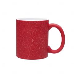 Caneca Mágica Glitter Personalizada - 325 ml Vermelho