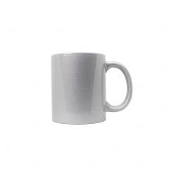 Caneca Perolada Personalizada - 325 ml Prata