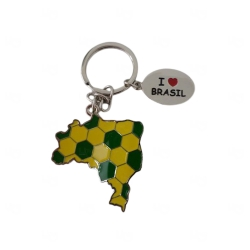 Chaveiro Brasil Personalizado