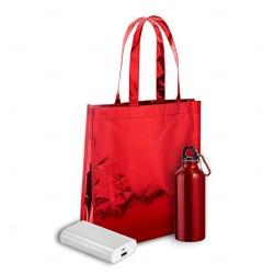 Kit Boas Vindas Personalizado - 3 Peças Vermelho