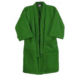 Roupão Aveludado Personalizado Verde