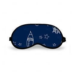 Máscara de Dormir Personalizada Azul