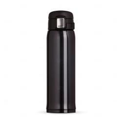 Garrafa Térmica de Metal Personalizada - 450ml Preto