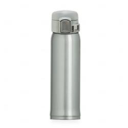 Garrafa Térmica de Metal Personalizada - 450ml Prata
