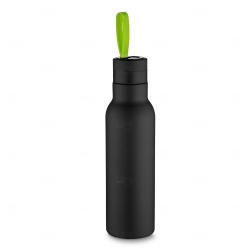 Garrafa Térmica Inox Personalizada - 500ml Verde