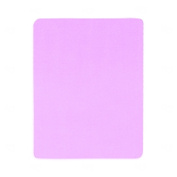 Mouse Pad  Neoprene Retangular Personalizado Rosa