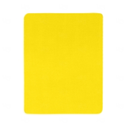 Mouse Pad  Neoprene Retangular Personalizado Amarelo