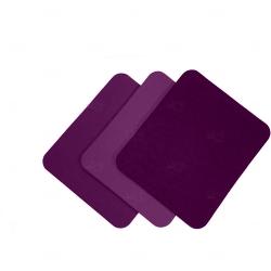 Mouse Pad  Neoprene Retangular Personalizado Roxo