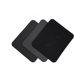 Mouse Pad  Neoprene Retangular Personalizado Preto