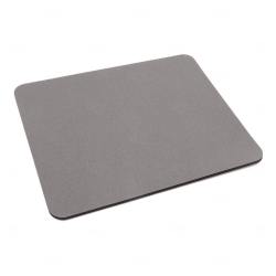 Mouse Pad  Neoprene Retangular Personalizado Cinza