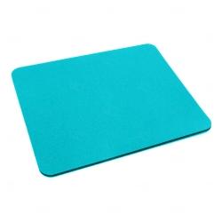 Mouse Pad  Neoprene Retangular Personalizado Azul Claro