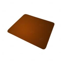 Mouse Pad  Neoprene Retangular Personalizado Marrom