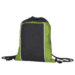 Mochila Saco Personalizada Impermeável Verde