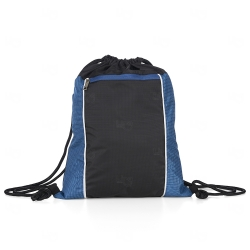 Mochila Saco Personalizada Impermeável Azul
