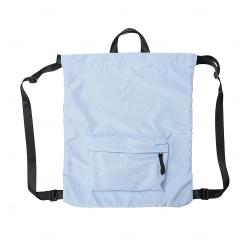 Mochila Personalizado Saco Poliéster Azul Claro